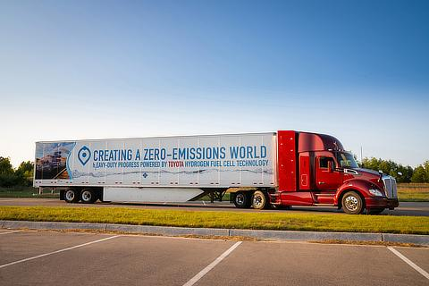 Second Version of Fuel Cell Heavy Truck (Project Portal)