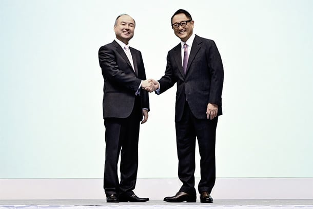 President Akio Toyoda Speech at Joint Press Conference by Toyota Motor Corporation and SoftBank Corp.
