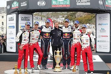 【ドライバー】ミーカ・アンティラ/ヤリ-マティ・ラトバラ/ヤンネ・フェルム/エサペッカ・ラッピ 2018 WRC Round 11 RALLY GB