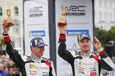 【ドライバー】ミーカ・アンティラ/ヤリ-マティ・ラトバラ 2018 WRC Round 11 RALLY GB