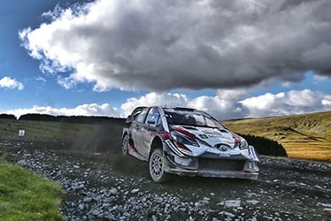2018 WRC Round 11 RALLY GB
