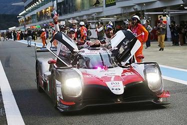 Mike Conway / Kamui Kobayashi / José María López, driver; 2018-19 WEC Round 4 Fuji