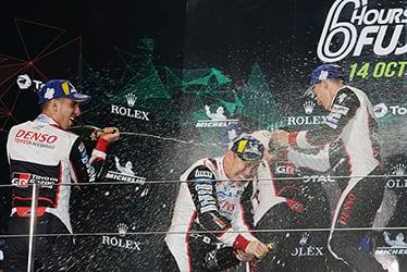 Sébastien Buemi / Kamui Kobayashi / Mike Conway, driver; 2018-19 WEC Round 4 Fuji