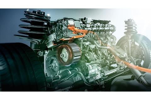 2.5-liter inline-4 (A25A-FXS) engine