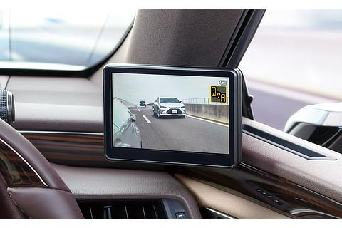 Digital Side-View Monitor Display (driver's seat)