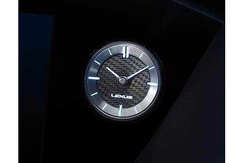 """F SPORT"" Analog clock"