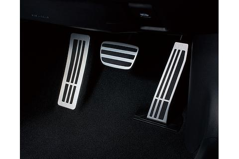 """F SPORT"" Aluminum sport pedal and foot rest"