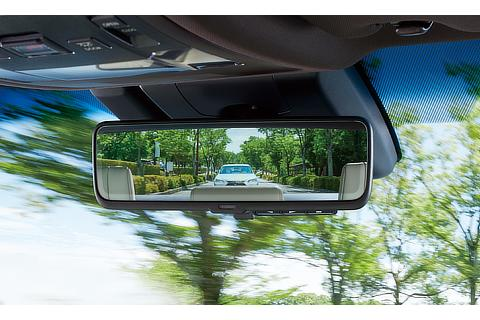 Digital rearview mirror (optical mirror mode)
