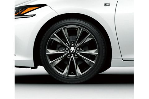 19-inch aluminum wheel (F SPORT exclusive)