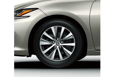 17-inch aluminum wheel