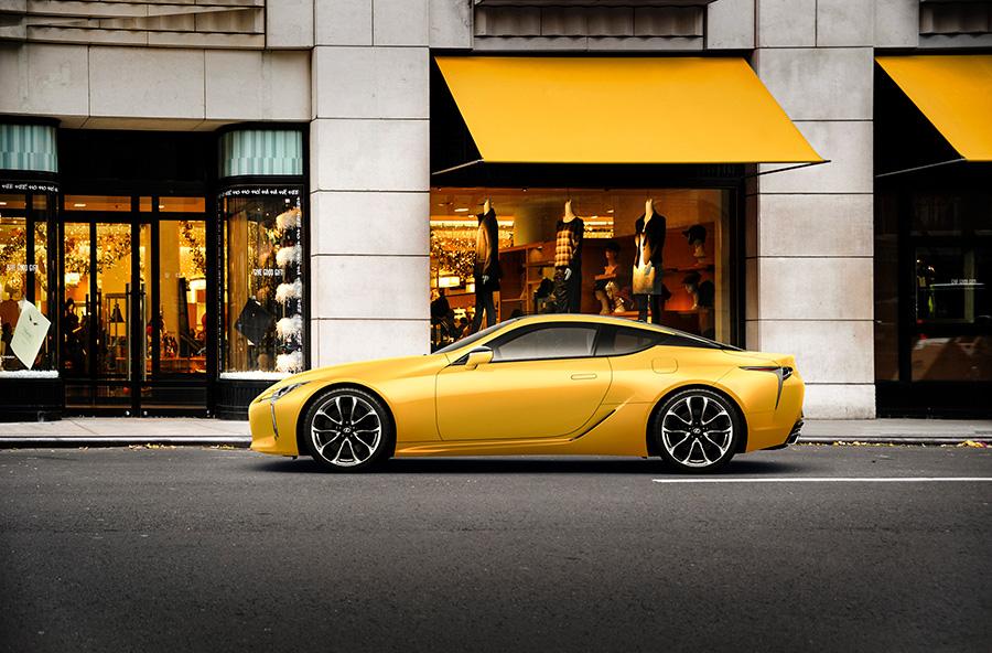 """LC500h特別仕様車""""Luster Yellow""""<オプション装着車>"""