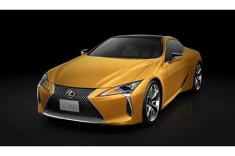 """LC500特別仕様車""""Luster Yellow""""(ネープルスイエローコントラストレイヤリング)"""