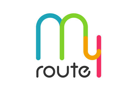 「my route」ロゴ