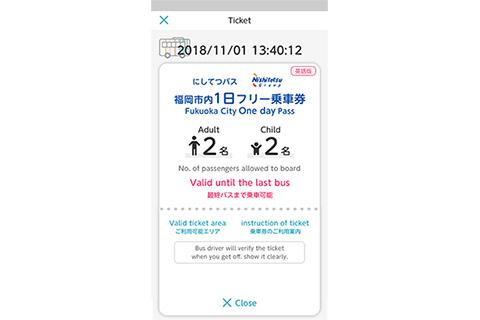 Fukuoka City One-day Pass