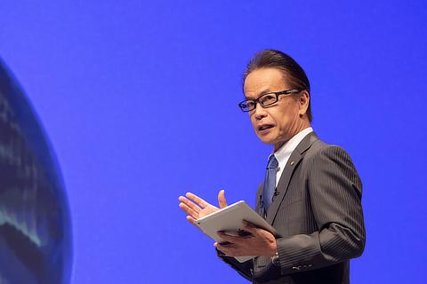 Shigeki Tomoyama, Executive Vice President, Toyota Motor Corporation