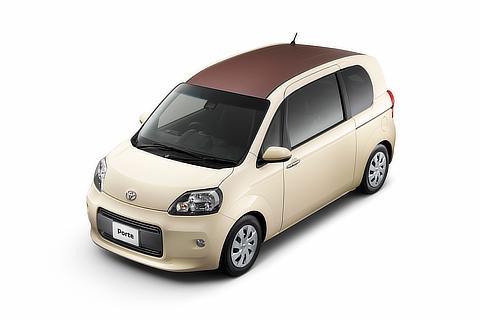 """ポルテ 特別仕様車 F""""Raffine""""(2WD)(クリームベージュ)"""