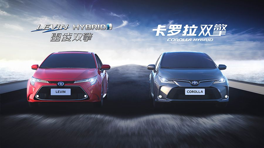 New Corolla and Levin Guangzhou Motor Show reveal video