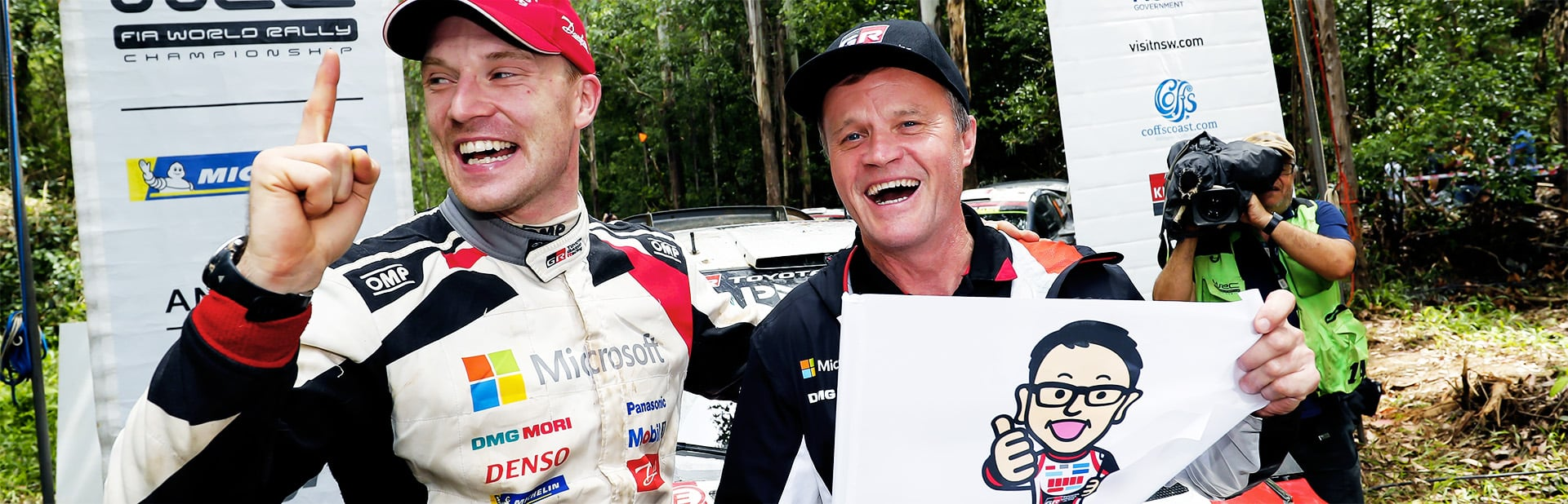 Rally Australia: Day 3 TOYOTA GAZOO Racing wins the rally and the title in Australia