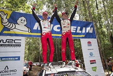 【ドライバー】ミーカ・アンティラ/ヤリ-マティ・ラトバラ 2018 WRC Round 13 Rally Australia