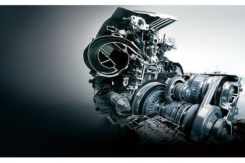 直列4気筒2.0L直噴エンジン&Direct Shift-CVT