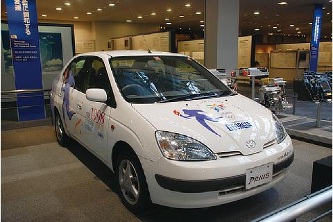 First Generation Prius (Photo credit to Toyota Commemorative Museum of Industry and Technology)