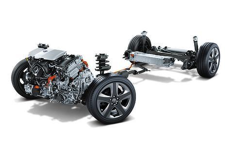 1.8L 2ZR-FXE エンジン+モーター