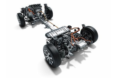 E-Four(電気式4WDシステム)