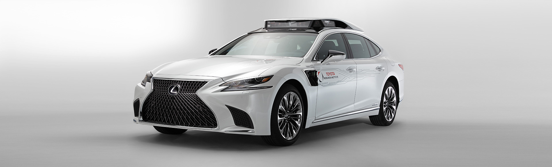 Toyota Research Institute Rolls-out P4 Automated Driving Test Vehicle at CES