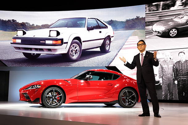 2019 North American International Auto Show (NAIAS) remarks by Akio Toyoda
