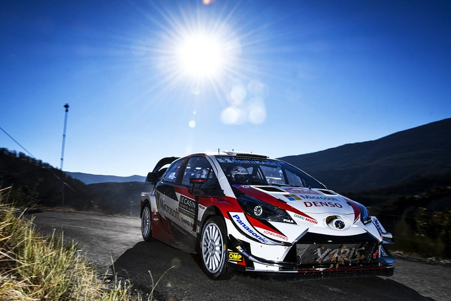 Car 5 (Kris Meeke, Seb Marshall)