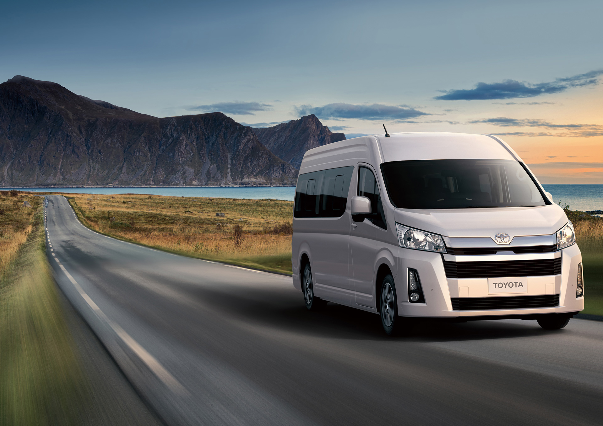 Toyota's New Hiace Series for Overseas Markets Debuts in