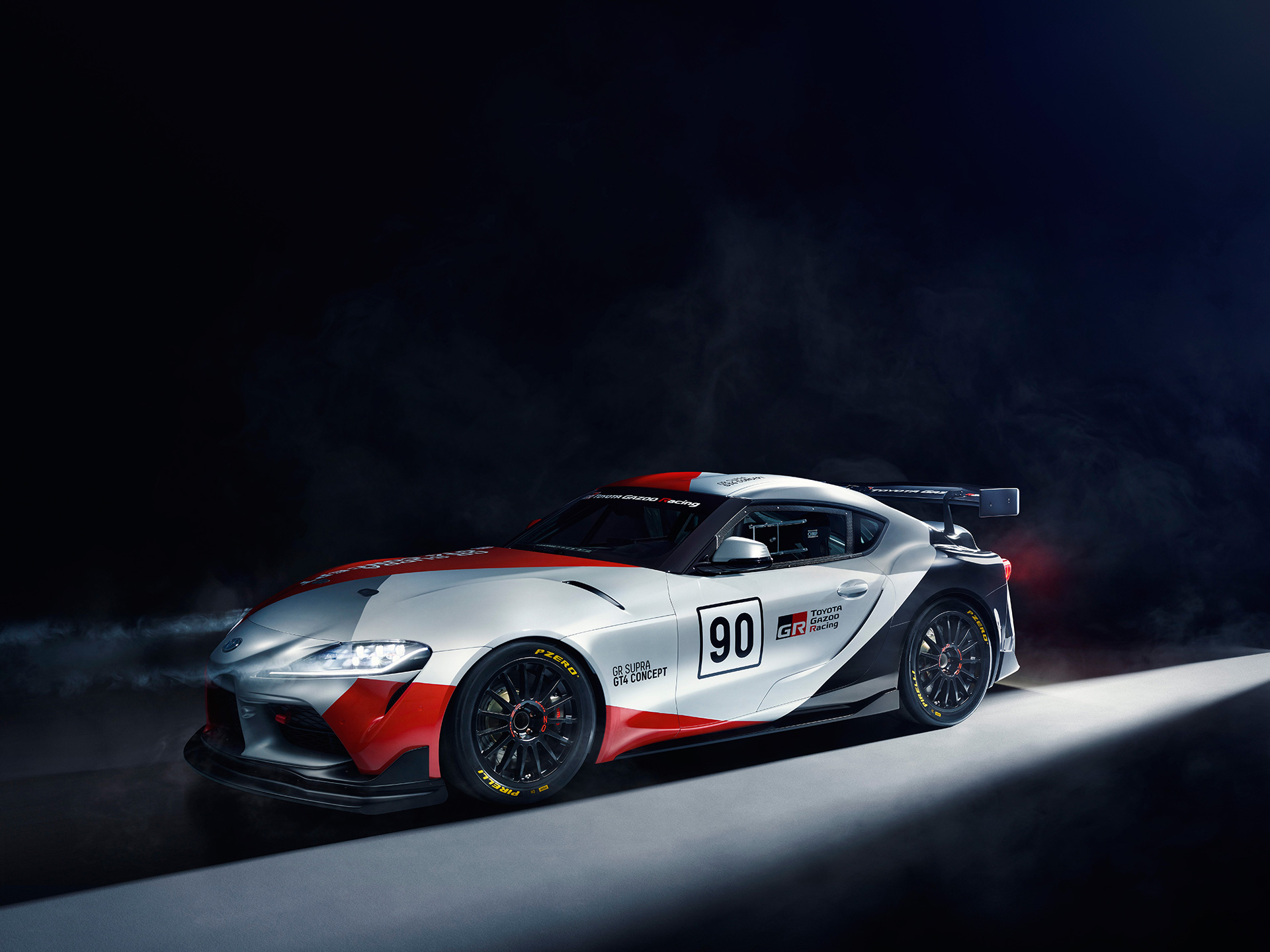 Toyota Presents World Debut of Toyota GR Supra GT4 Concept at 2019
