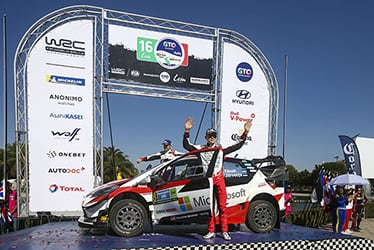 Martin Järveoja / Ott Tänak, driver; 2019 WRC Round 3 Rally Mexico