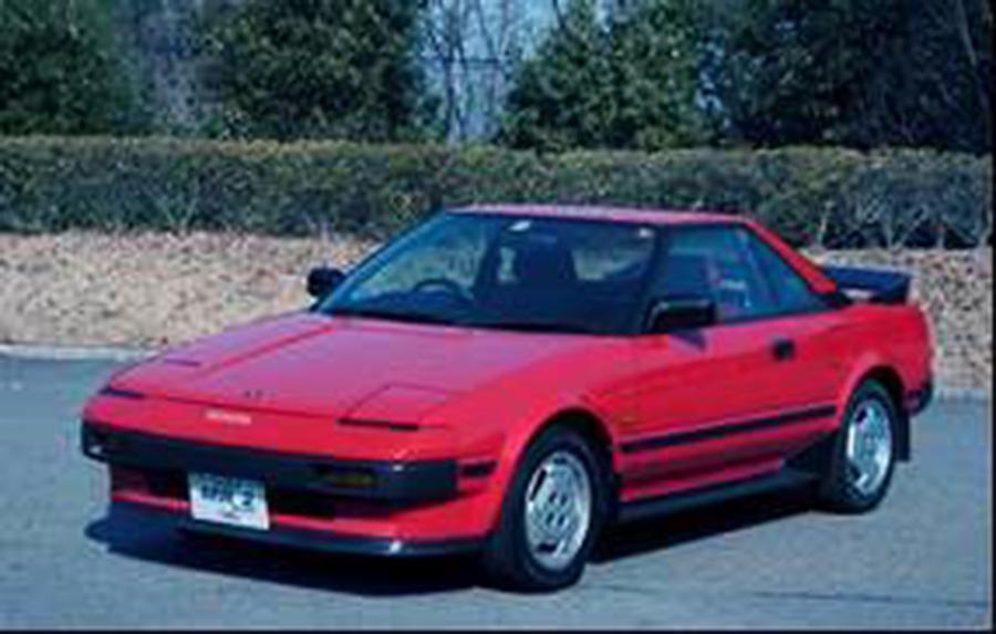 トヨタ MR2(1984)