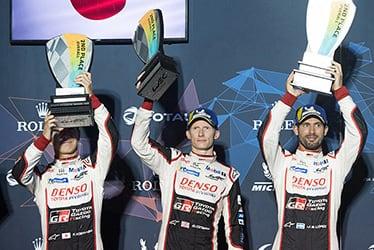 Kamui Kobayashi / Mike Conway / José María López, driver; 2018-19 WEC Round 6 1000 Miles of Sebring