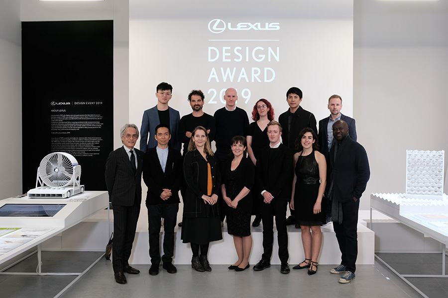 Lexus Design Award 2019 Judges, Mentors and Finalists
