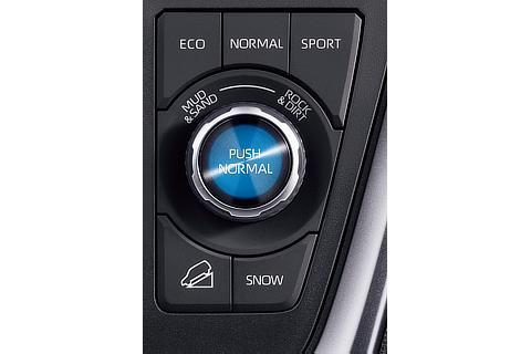 ガソリン4WD車 マルチテレインセレクト・ドライブモードセレクト(ダイヤル式)