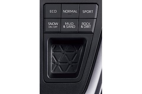 ガソリン4WD車 マルチテレインセレクト・ドライブモードセレクト(プッシュ式)