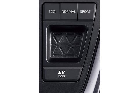 ハイブリッド車 2WD ドライブモードセレクト(プッシュ式)