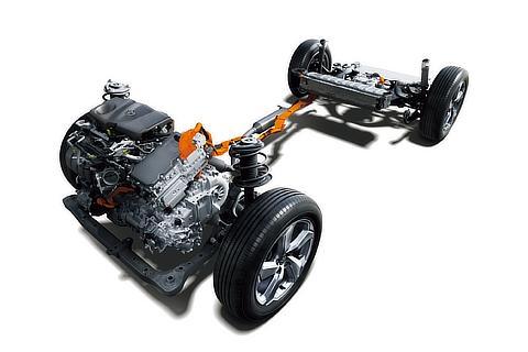 2.5L DYNAMIC FORCE ENGINE A25A-FXS × HYBRID SYSTEM