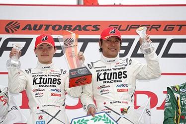 【ドライバー】阪口 晴南/新田 守男 SUPER GT 第1戦 OKAYAMA GT 300km RACE