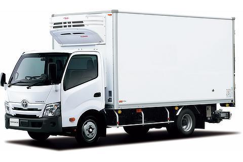 トヨエース TECS 中温冷凍車 ワイドキャブ・ロングボディ・フルジャストロー・2t積・ディーゼル車・2WD(ホワイト)<オプション装着車>