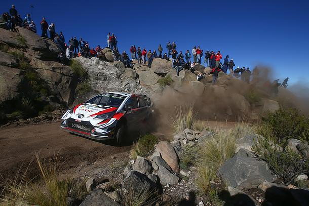 Rally Argentina: Day 4 Toyota Yaris WRC climbs the