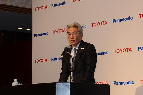Toyota Operating Officer Masayoshi Shirayanagi