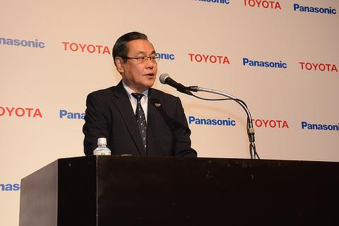 Panasonic Senior Managing Executive Officer Makoto Kitano