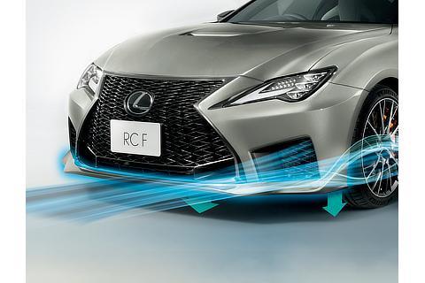 RC F(ソニックチタニウム)<オプション装着車>
