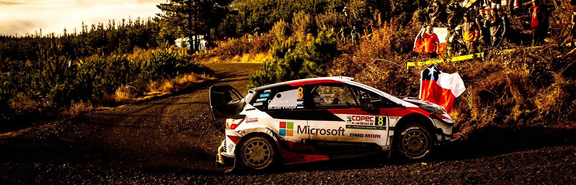 Rally Chile: Day 3 Tänak and the Toyota Yaris WRC conquer a new rally in Chile
