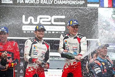 Martin Järveoja / Ott Tänak, driver; 2019 WRC Round 6 Rally Chile
