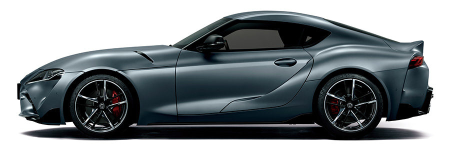 Supra RZ (Matte Storm Gray Metallic exterior color) <Options shown>