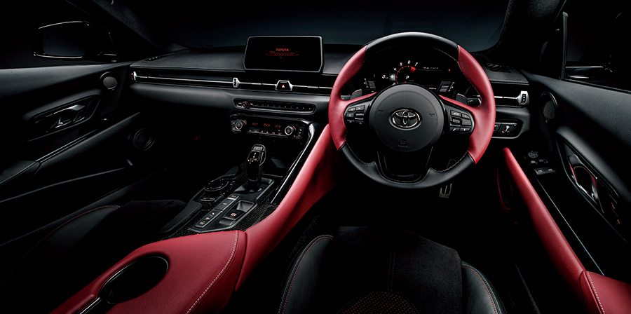 Supra RZ (Ignition Red interior) <Options shown>